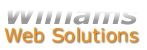 Williams Web Solutions - Your best choice for website design and redesign, website and e-mail hosting, and online marketing (seo/sem)